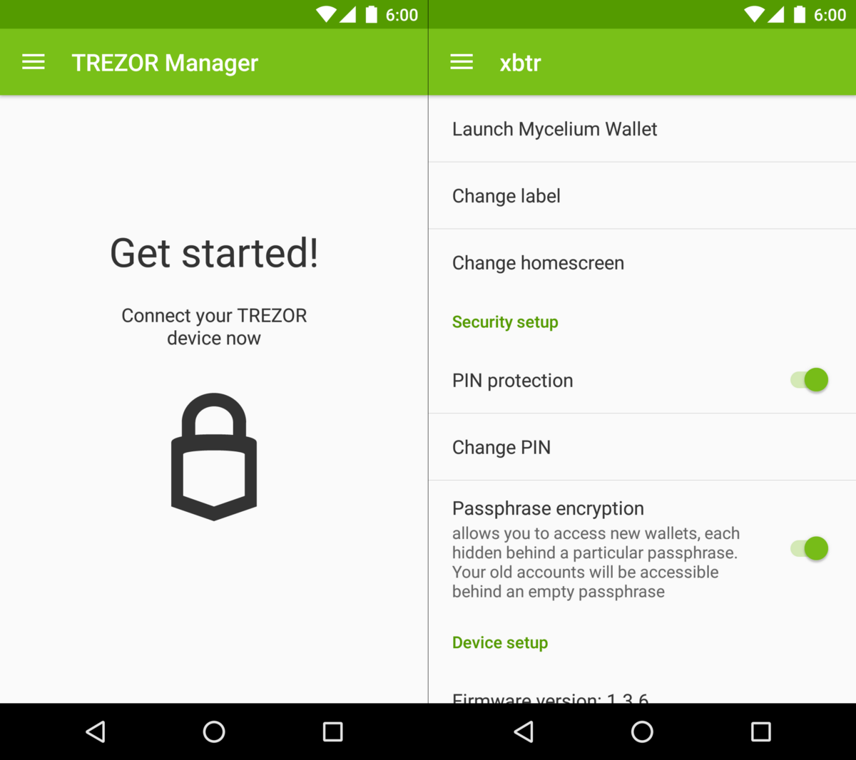 Trezor Manager App For Android Trezor Blog