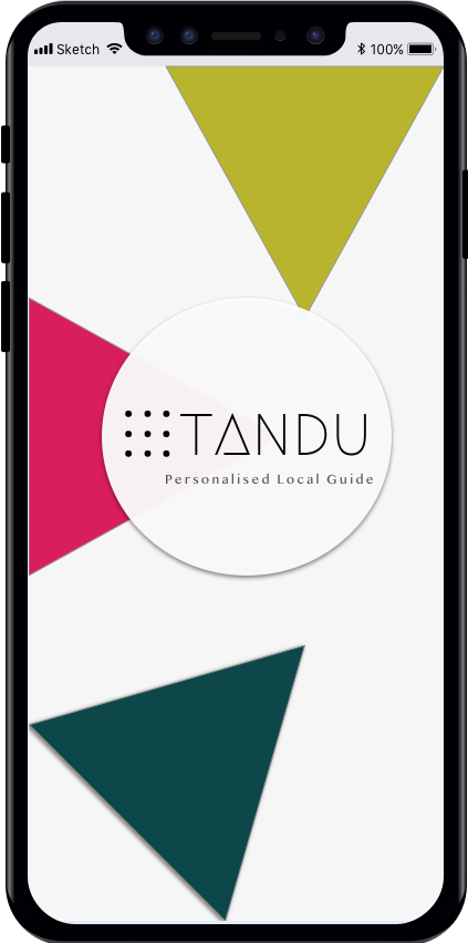 Designing my first UX concept project: Tandu — travel and you