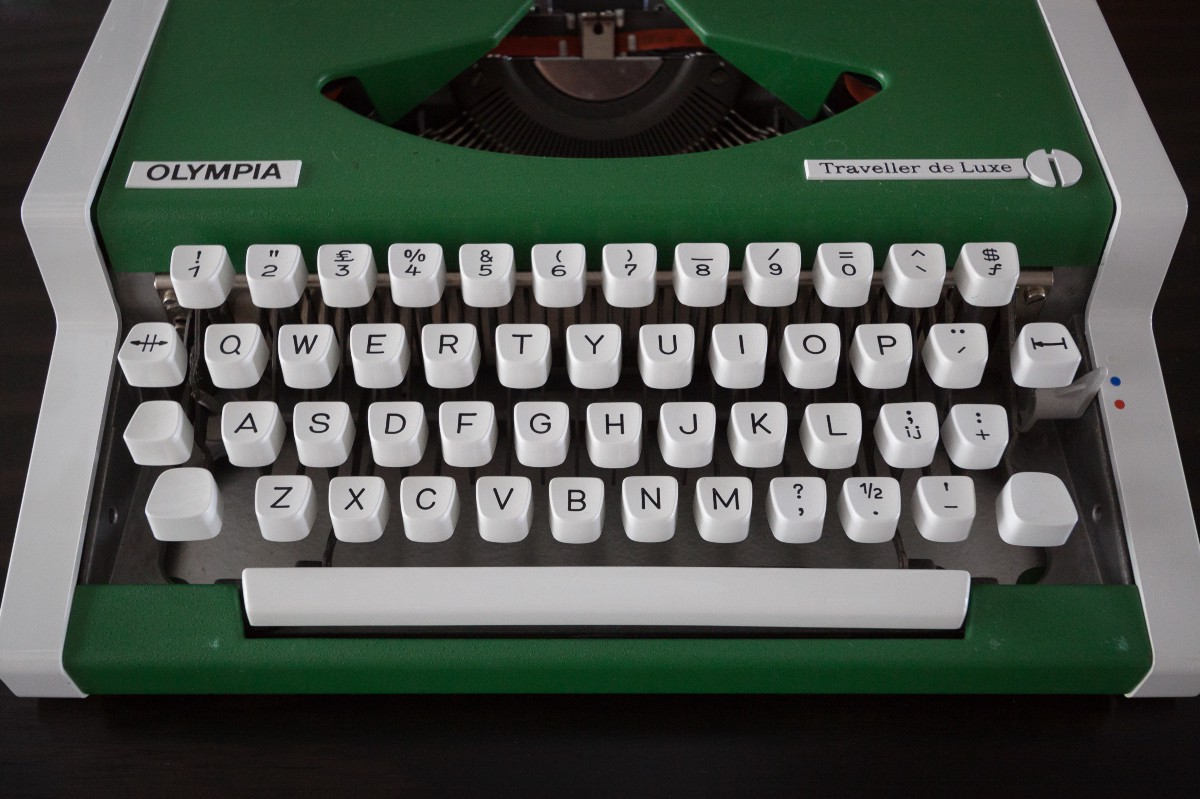 What i learned about languages just by looking at a turkish typewriter compare the english keyboard on the left with the turkish on the right ampersand is gone joined by both the pound and dollar keys biocorpaavc
