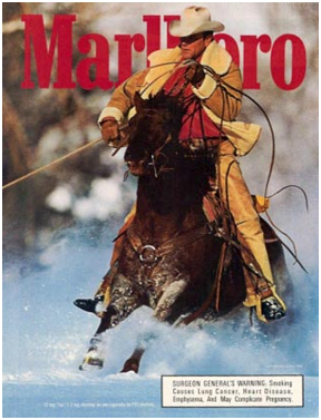 an analysis of the marlboro ad a western landscape Clint eastwood's shifting landscape out of the west who has read western dime fiction all his life and is hot to plug someone—pretty much anyone will do.