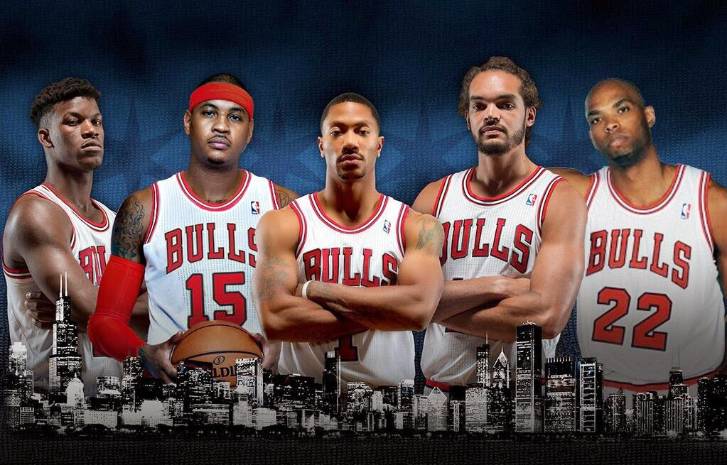 ba37364e751 The Chicago Bulls Finally Get Carmelo Anthony Out of New York