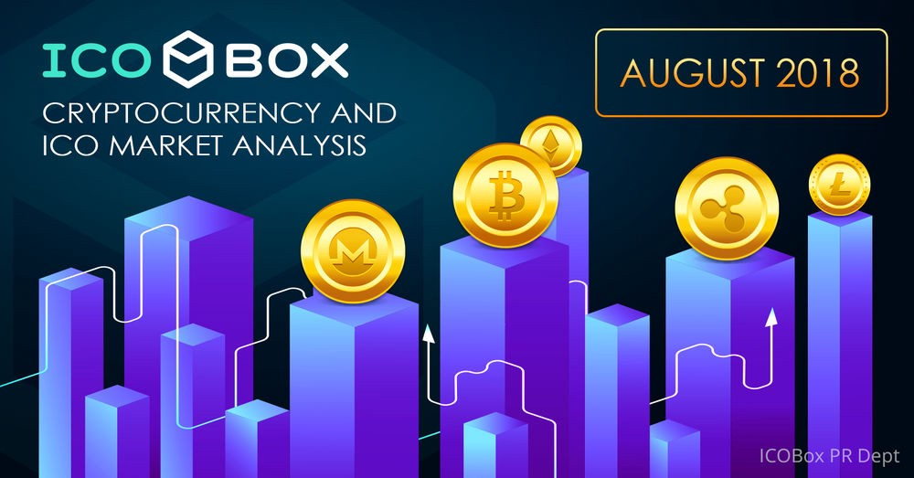 8d1d7cbe522088 Monthly Cryptocurrency and ICO Market Analysis (August 2018)
