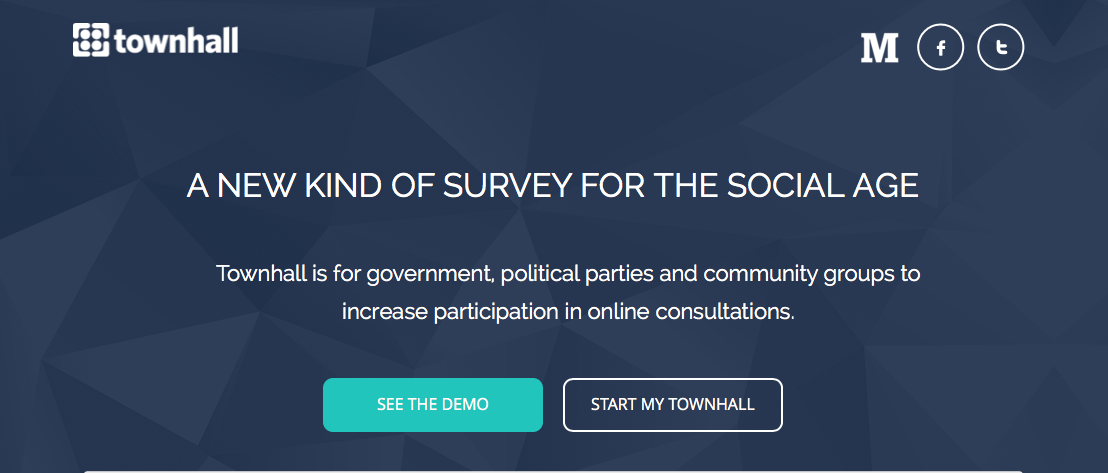 2016 is the year for townhall s simple surveys townhall app medium