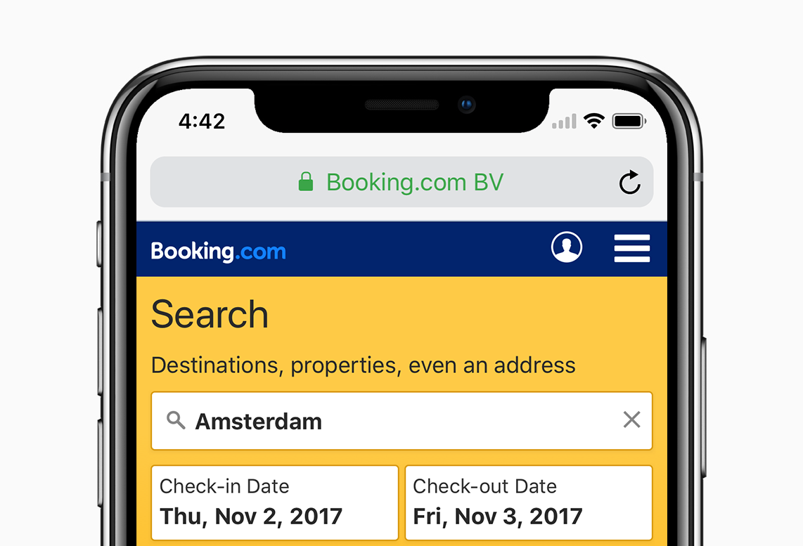 How we adapted the booking mobile site for the iphone x notch when apple announced the launch of their latest flagship handset the iphone x they promised it would set a new benchmark for mobile devices of the future ccuart Images
