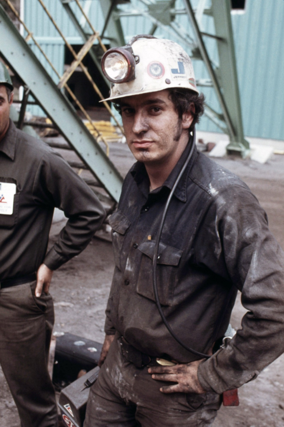 The Deep Imagery Of Coal Mining In The 1970s Shows A