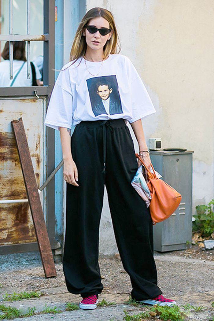 d55e015e 6 Great tips on how to wear the oversized T-shirt – Inspiring Quotes ...