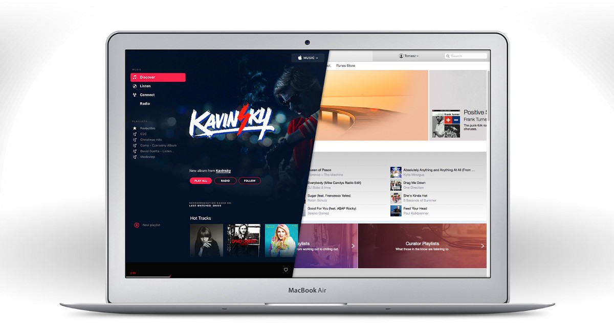 Apple Music Redesign: Part 1 – Design in the digital age ...