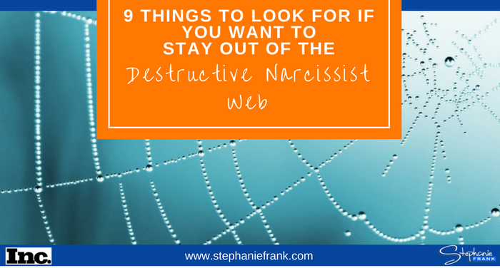 9 Things To Look For If You Want to Stay Out of the Destructive