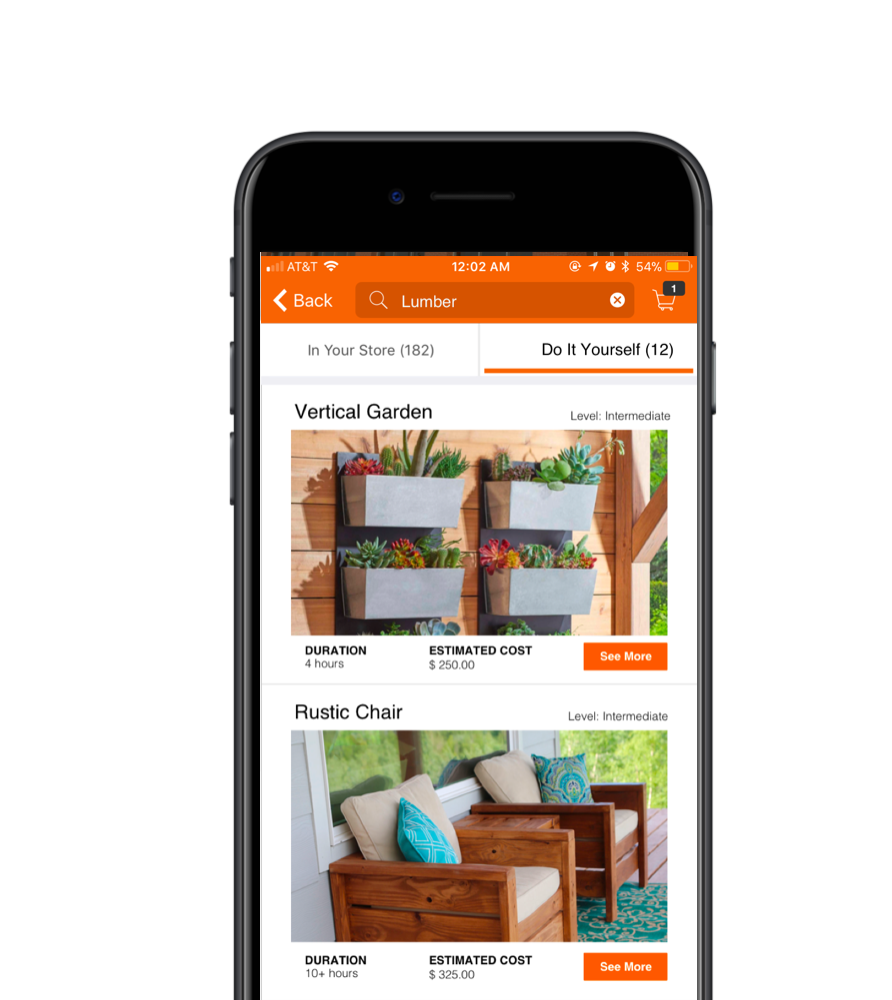 Building a diy feature ted lee medium we decided to give the diy function more importance because we believe that feature has a lot of business potential for home depot solutioingenieria Images