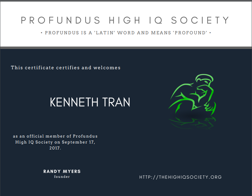about the profundus high iq society and journal profundus journal