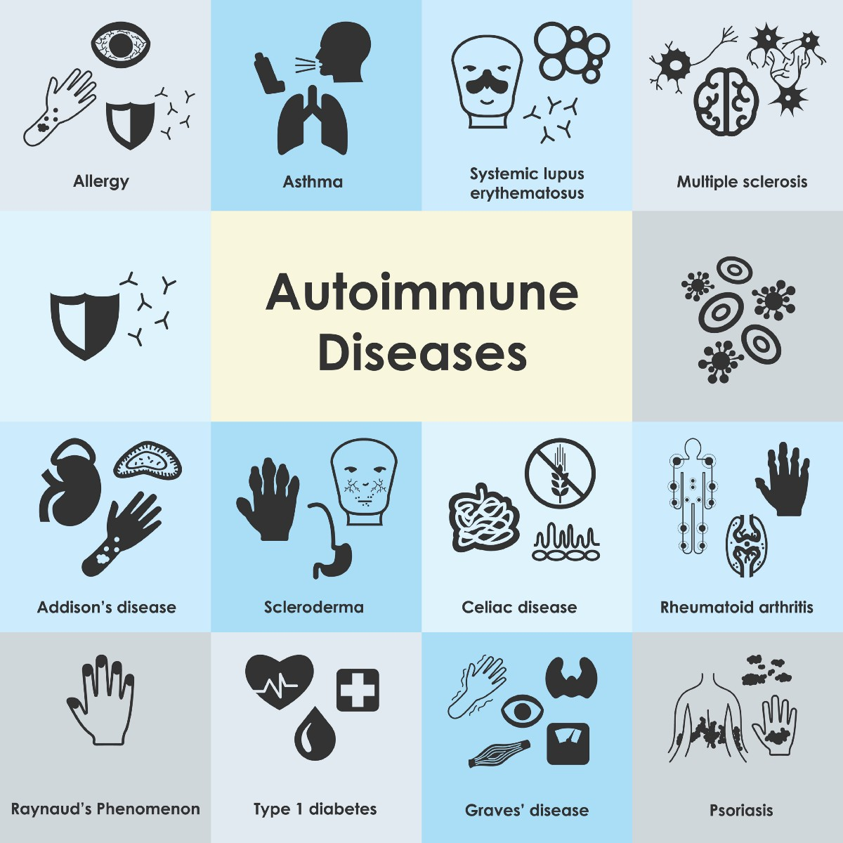 Image result for autoimmune disease