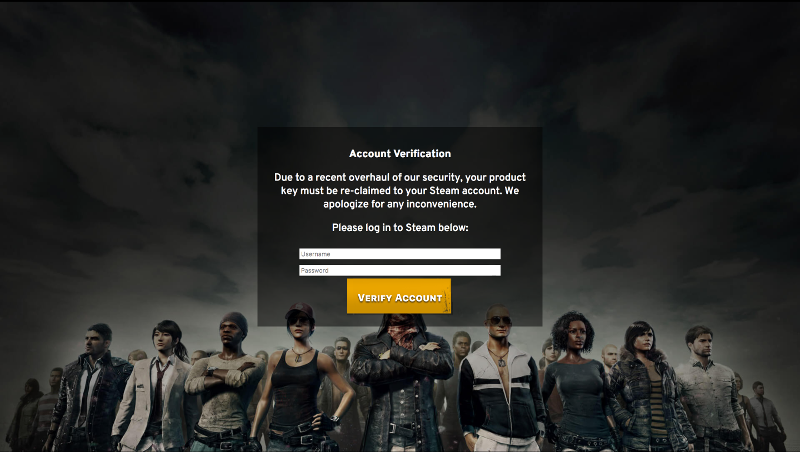 Playerunknown S Battlegrounds Main Menu Is Vulnerable To Hacking - it s completely fake and delivered from a server completely unrelated to pubg or bluehole and could send me your login details if you input them it does