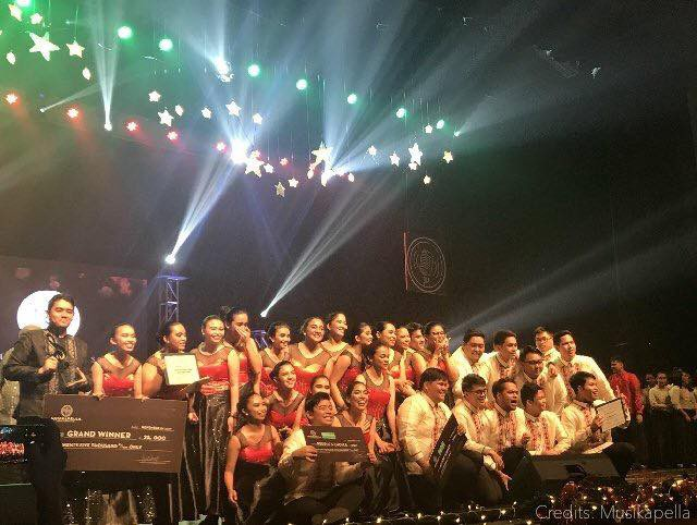 SHS music org is reigning champion in 2017 Musikapella
