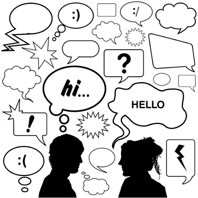 dialogues in english writing