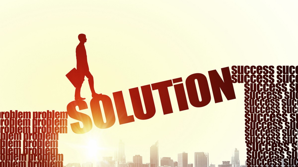 how to solve solution problems