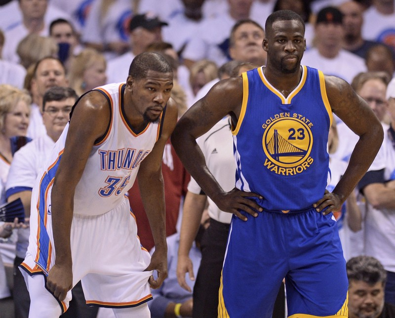 "aa710a57f24 Draymond Green to Kevin Durant at Warriors meeting  ""You can leave here  with or without your testicles"""