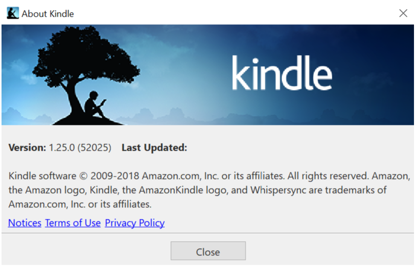 latest version of the kindle