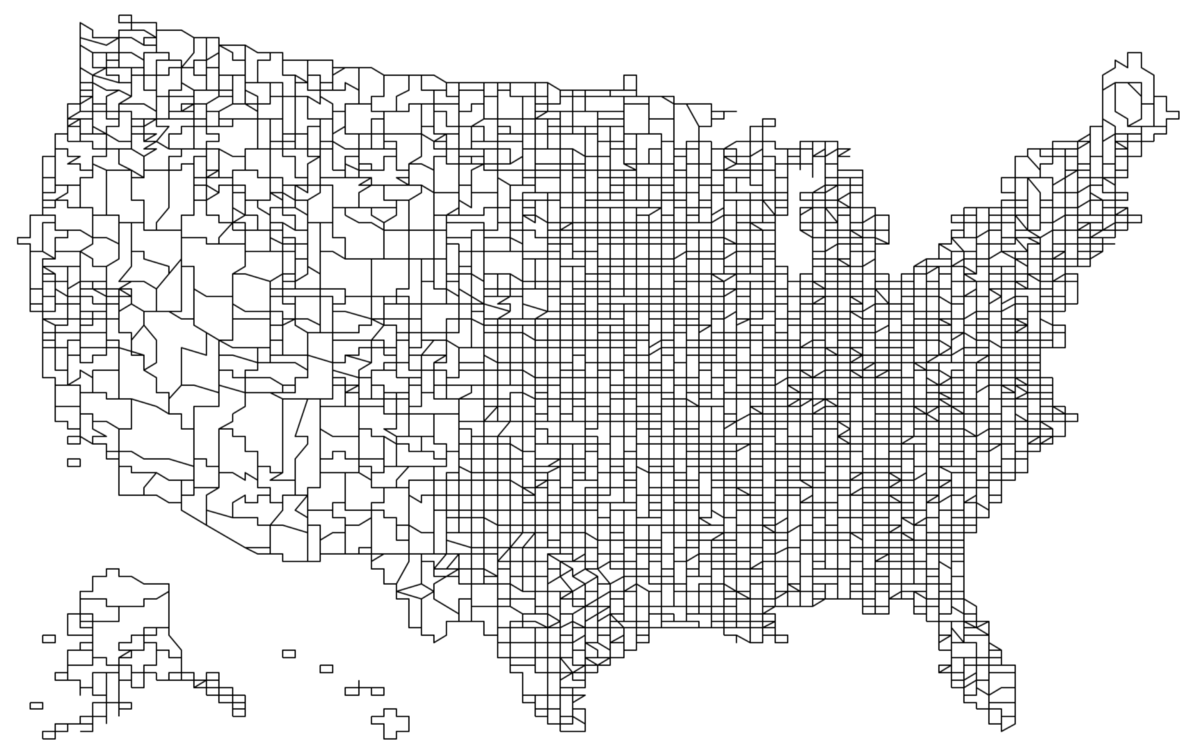 US Printable County Maps Royalty Free Here Is A Map Of Every US - Map of us counties