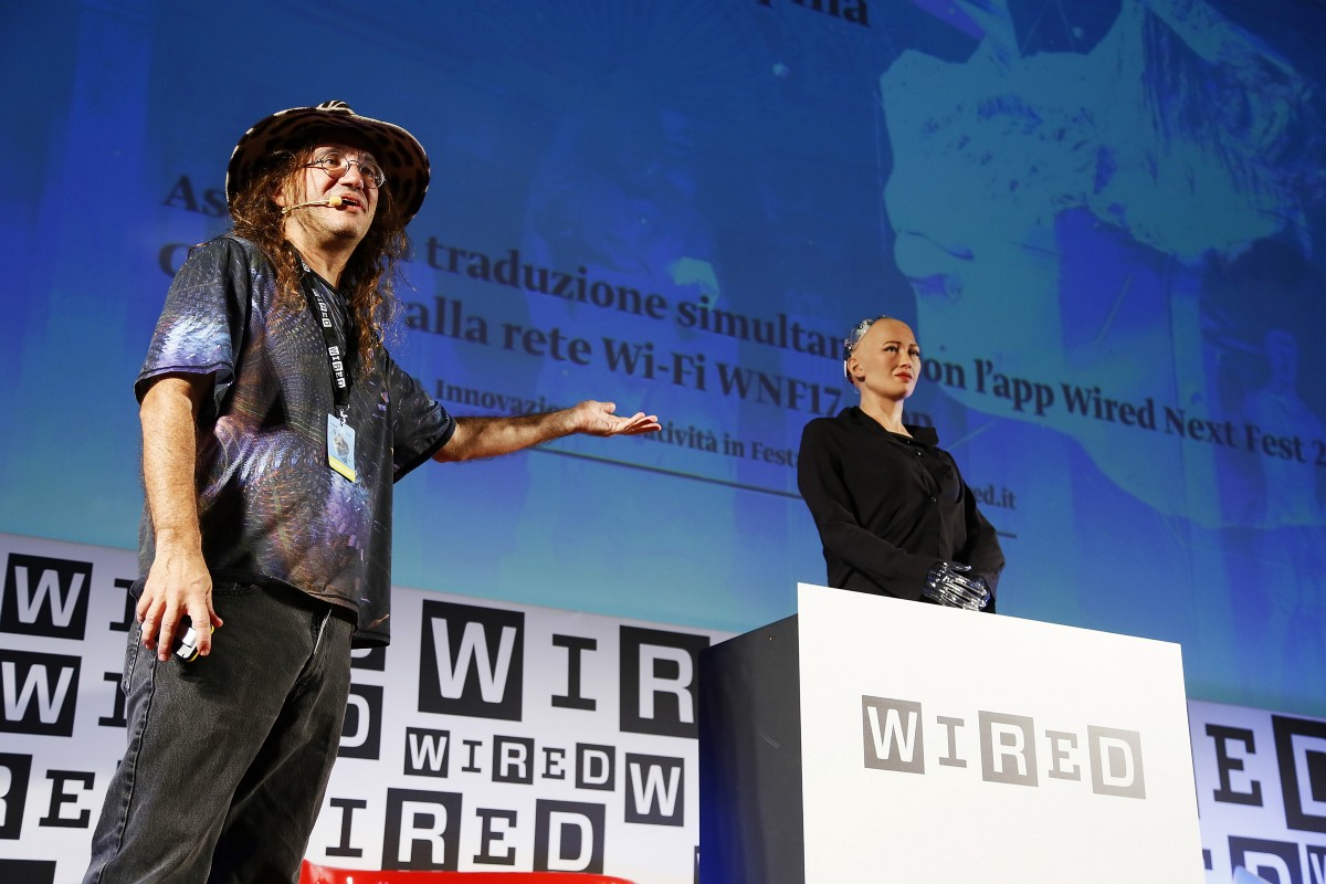 SingularityNET Presents at Wired\'s Nextfest 2017 in Firenze, Italy
