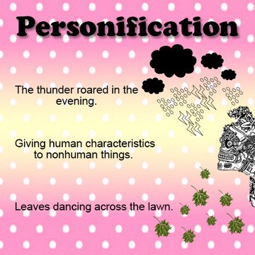 how to explain personification