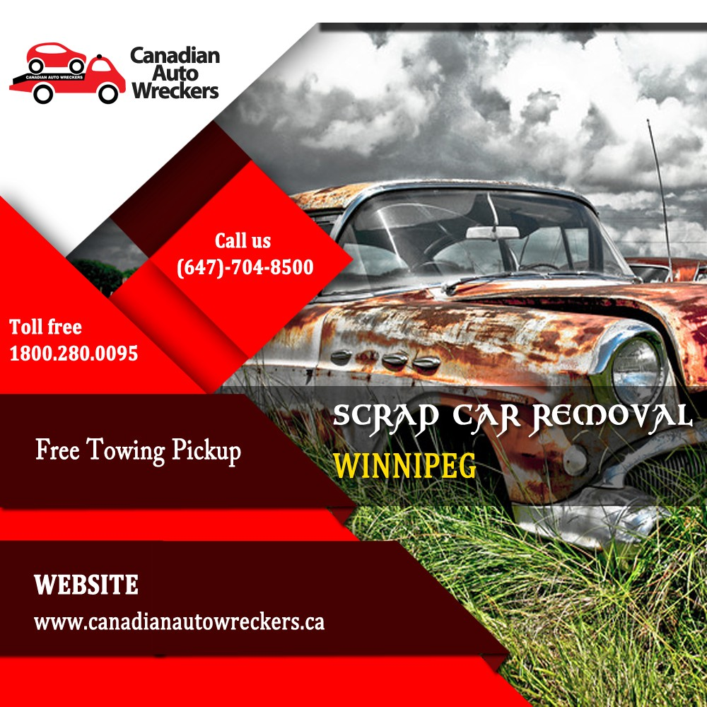 2018 Best Scrap Car Removal Company in Winnipeg — Canadian Auto Wreckers