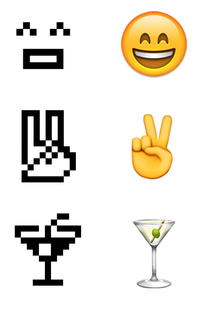 The Original Emoji Set Has Been Added To The Museum Of Modern Arts