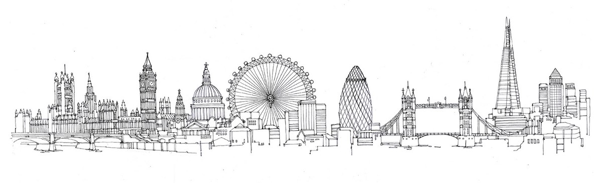 Line Drawing Tattoos London : My sons autism no he can t draw the london skyline from