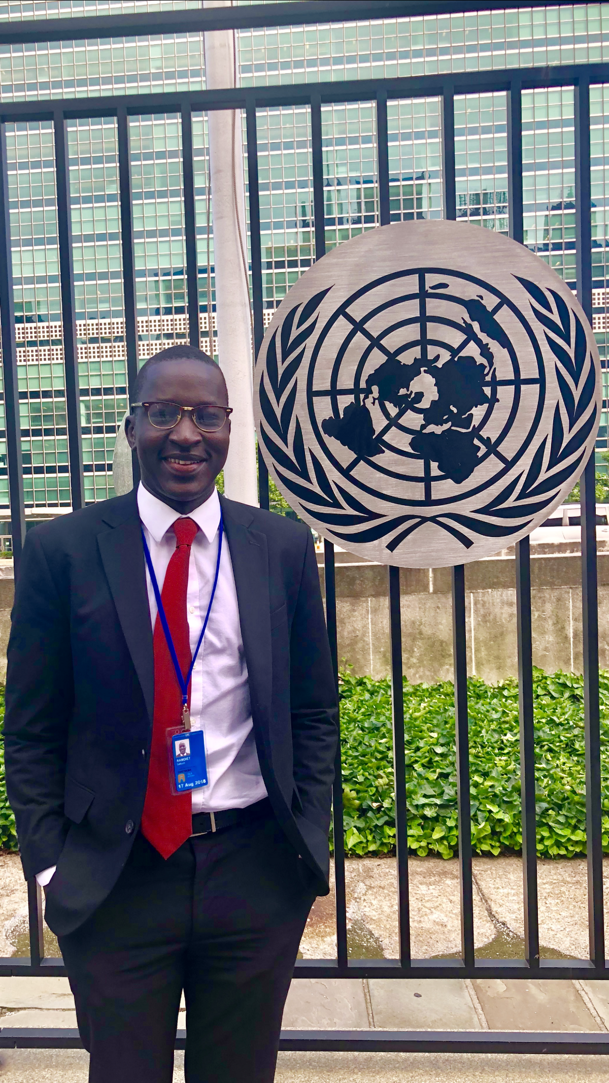 One Man's Journey From a Refugee Camp in Ethiopia to UN Headquarters in NYC