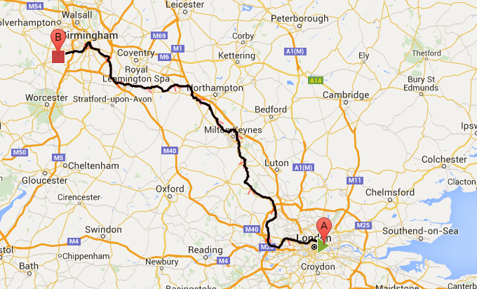 Grand Union Canal Map A Grand Union Canal Tour: London to Birmingham on bike Grand Union Canal Map