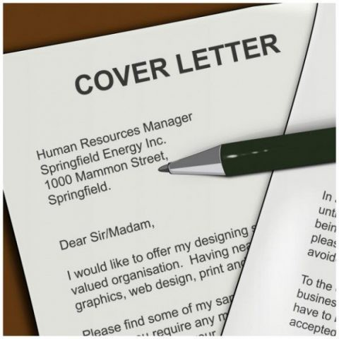 why write a cover letter