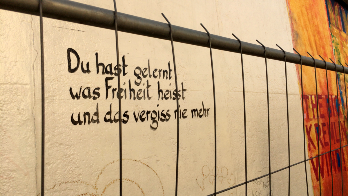 Notes On Trump From The Berlin Wall – Future Travel