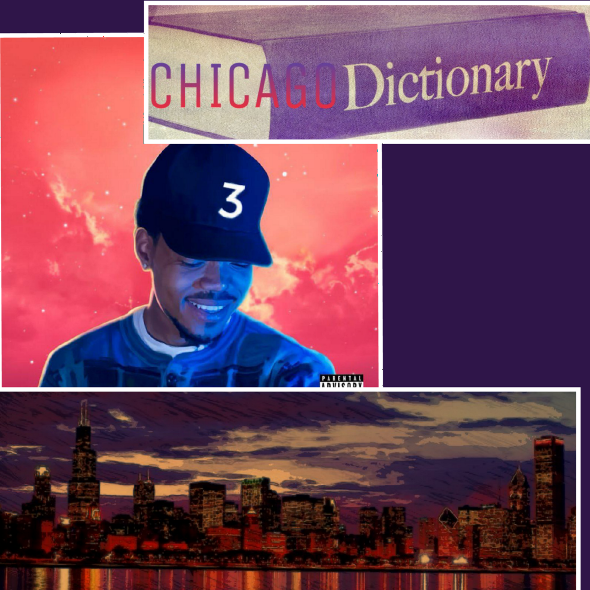 Chance The Rapper Coloring Book Back Cover