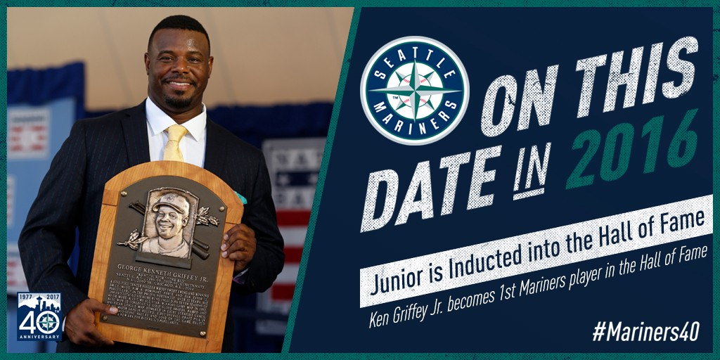 a6bbdc64c9 On This Date: Ken Griffey Jr. is Inducted Into the Hall of Fame