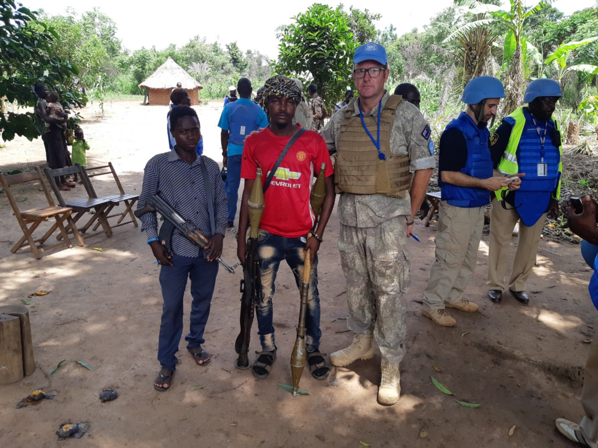 Serving in war-torn South Sudan a privilege despite risks