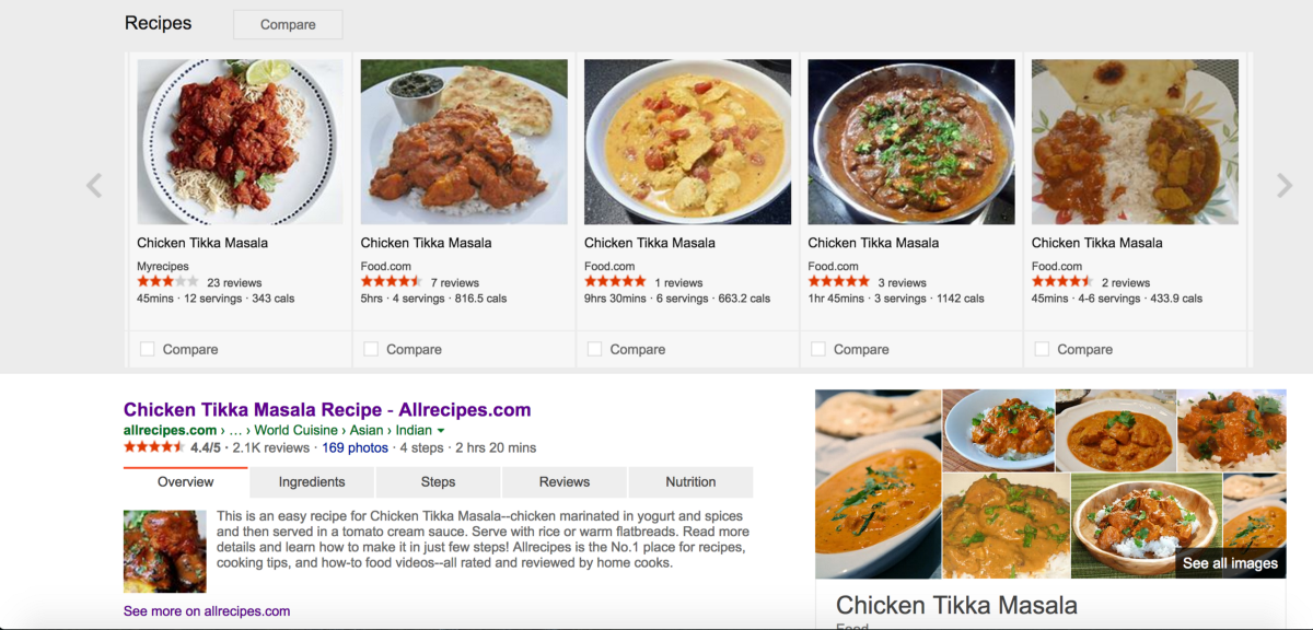 Google recipe redesign shaun liu medium above is microsoft bings recipe search result page although it has the right idea for extracting only the important information the page is rather forumfinder Gallery