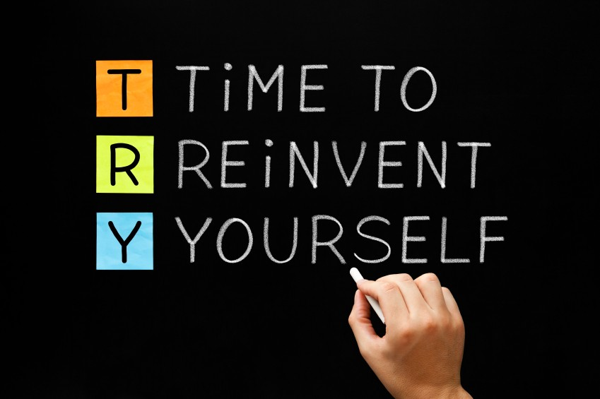i want to reinvent myself