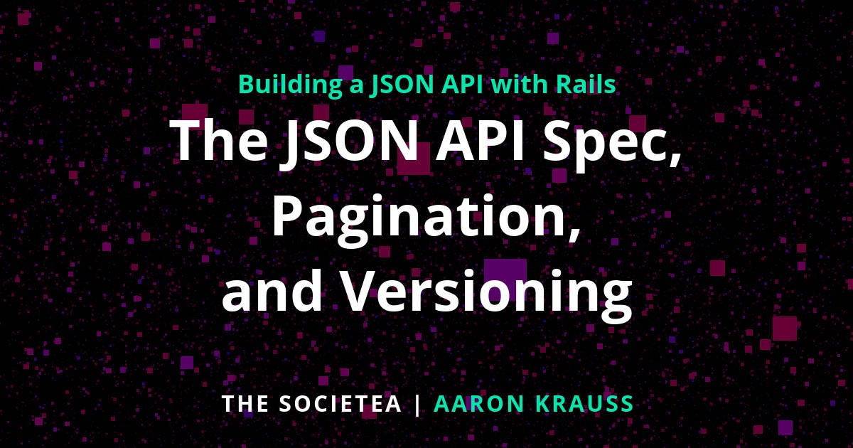 how to create json api