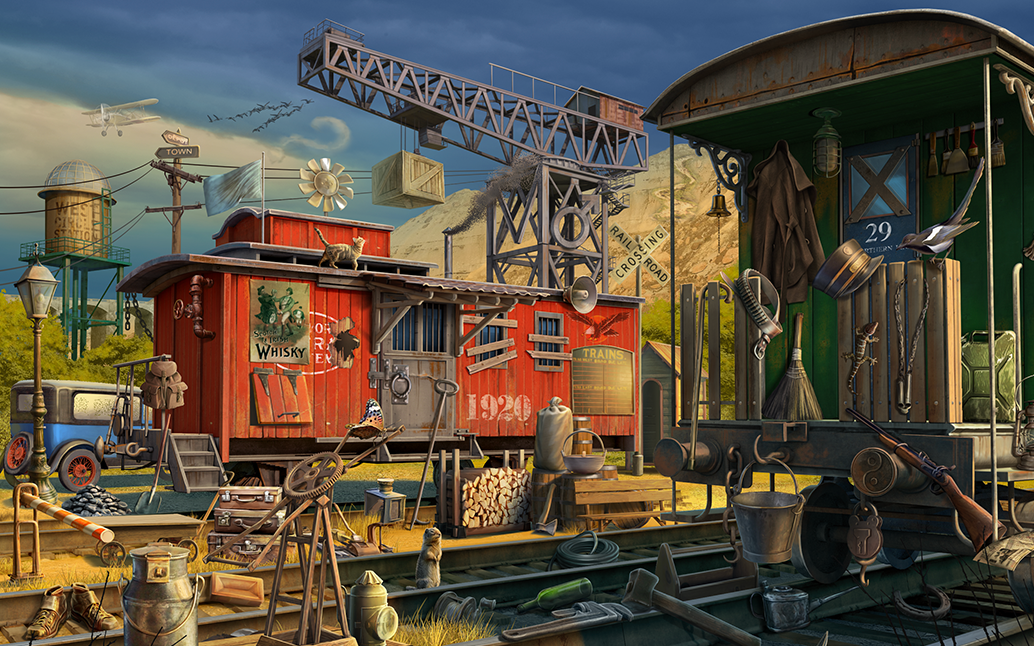 30 Hours Of Hard Work How One Hidden Object Scene Comes About