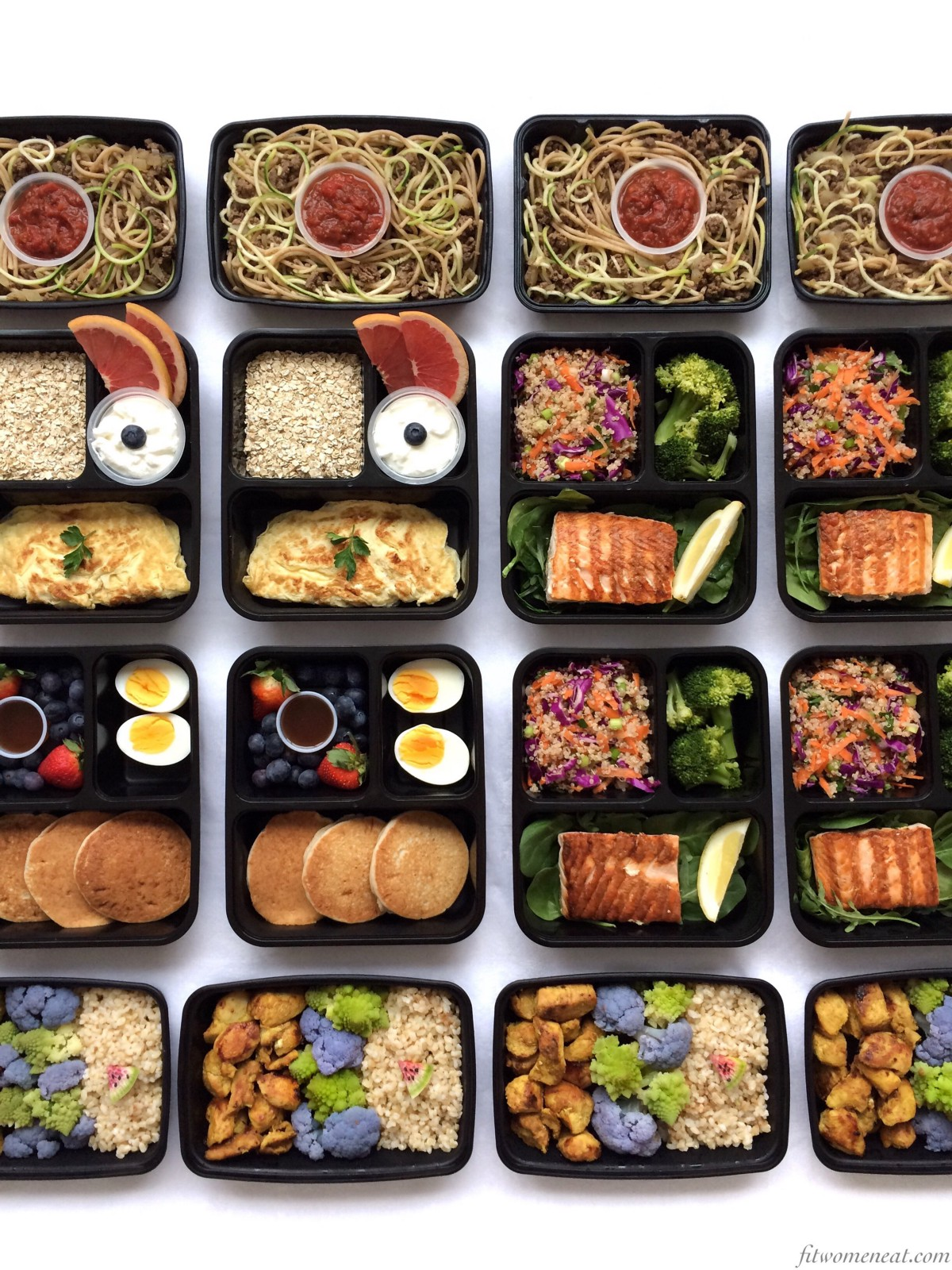 5458b187476 Delicious Weekly Meal Prep – Fit Women Eat