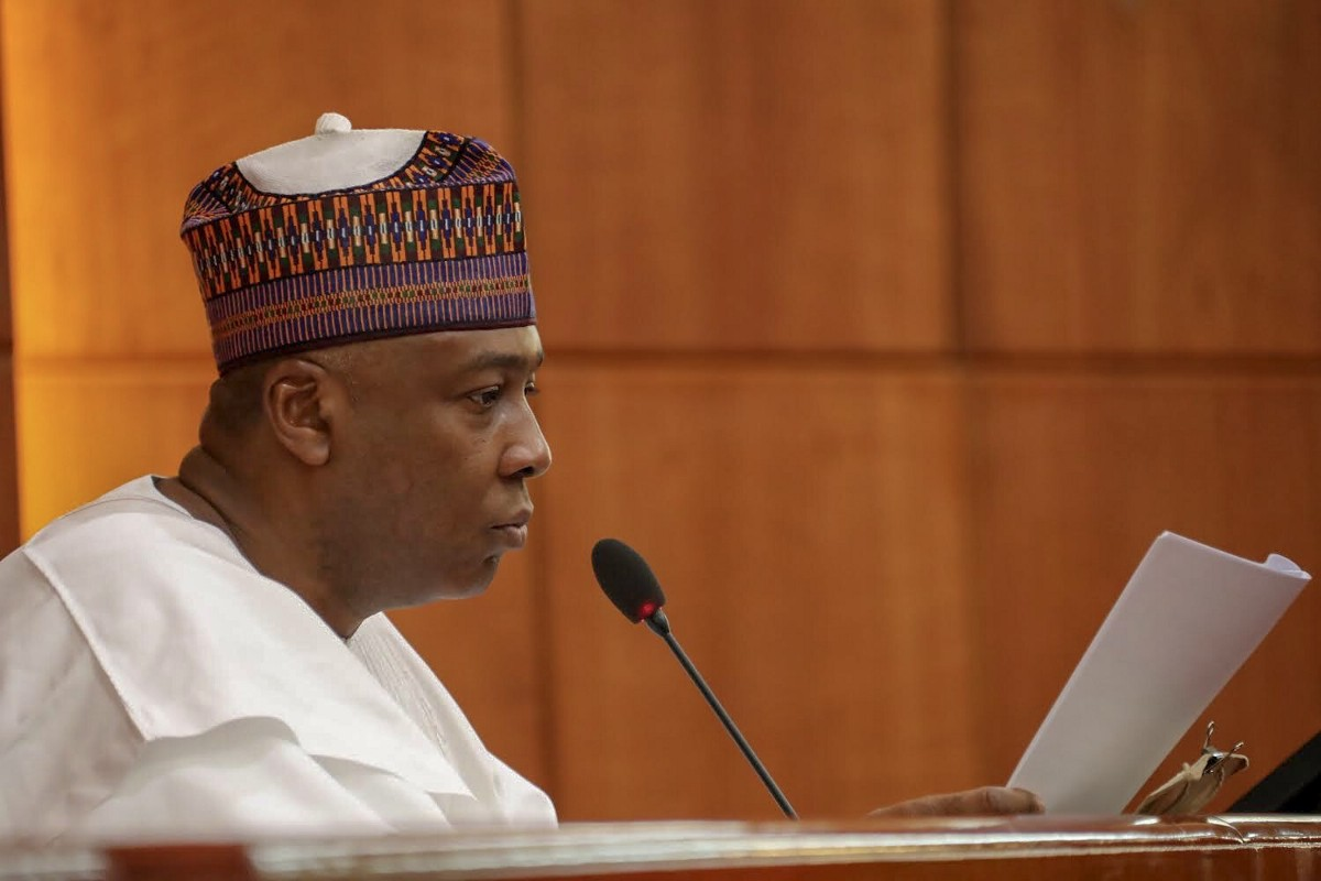 "Senate President Saraki to President Buhari: ""Sign the #ElectoralBill Now"""
