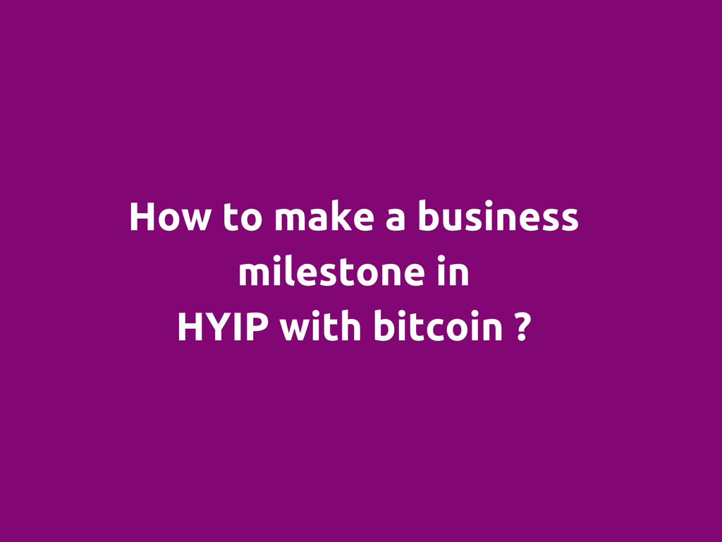 Safe hyip quotes