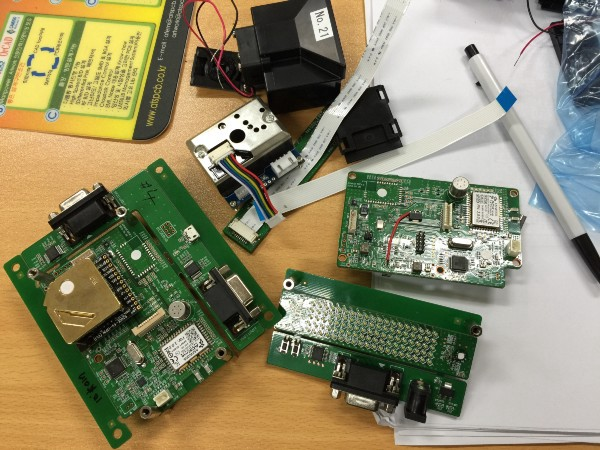 A snapshot of parts going into Awair