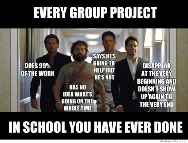 Being The Smart Kid In Group Projects