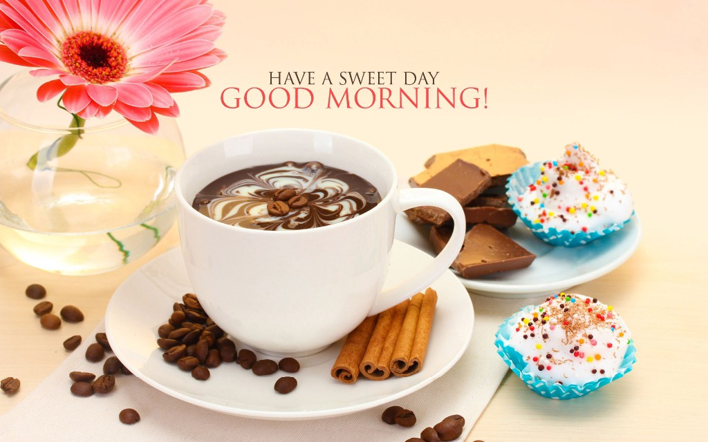 A good morning greetings pam silverberg medium he would lift the cup triumphantly with his morning greeting almost to imply good morning well it is now m4hsunfo