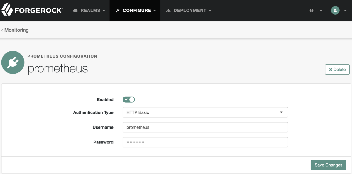 Integrating the ForgeRock Identity Platform With Prometheus and