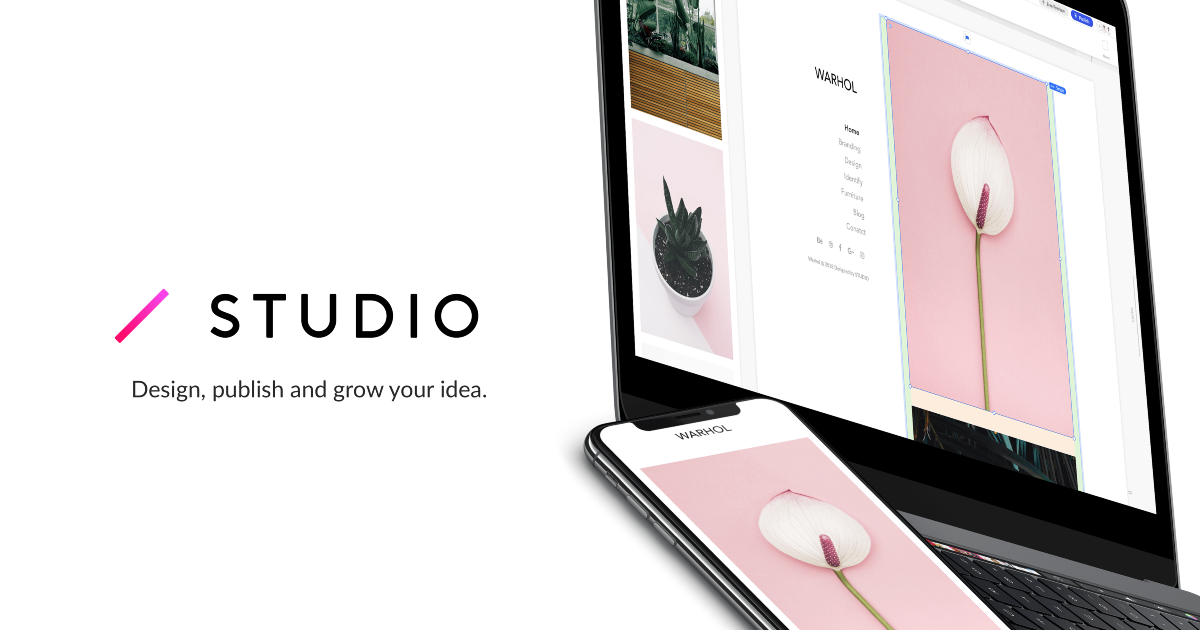 Announcing the official release of STUDIO!