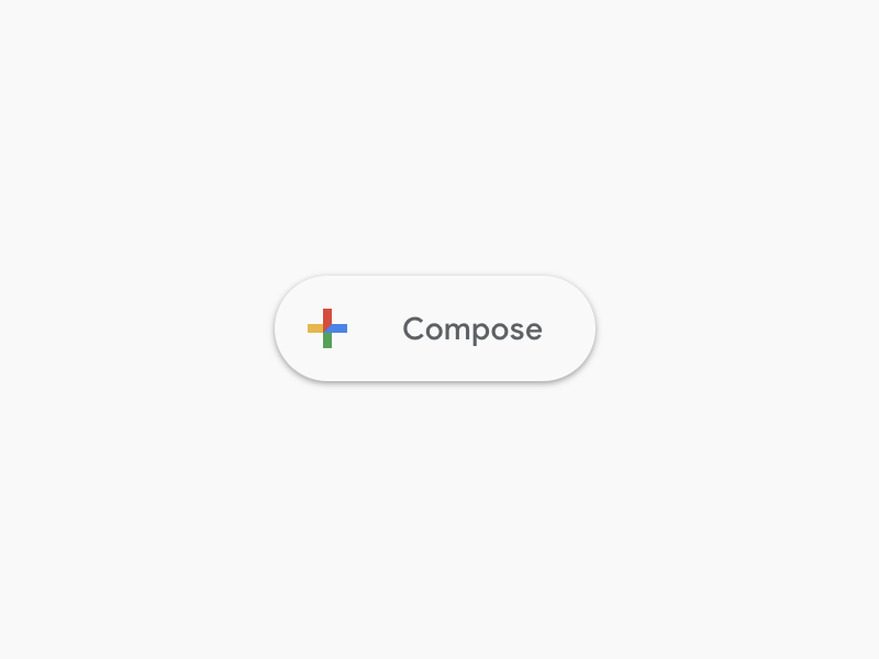 Design for React UI components. Material Design theme—Buttons