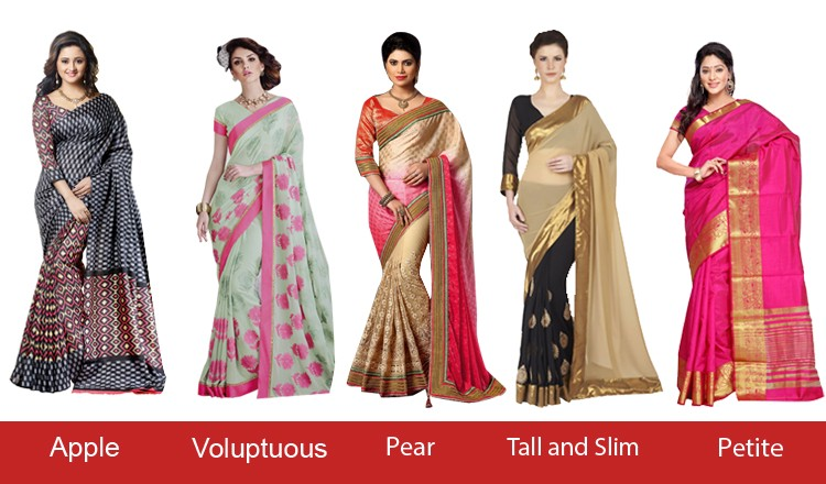 6a06591f727 What s the best suited Saree for your body type  – Saree.com – Medium