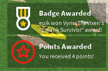 ranking up to e