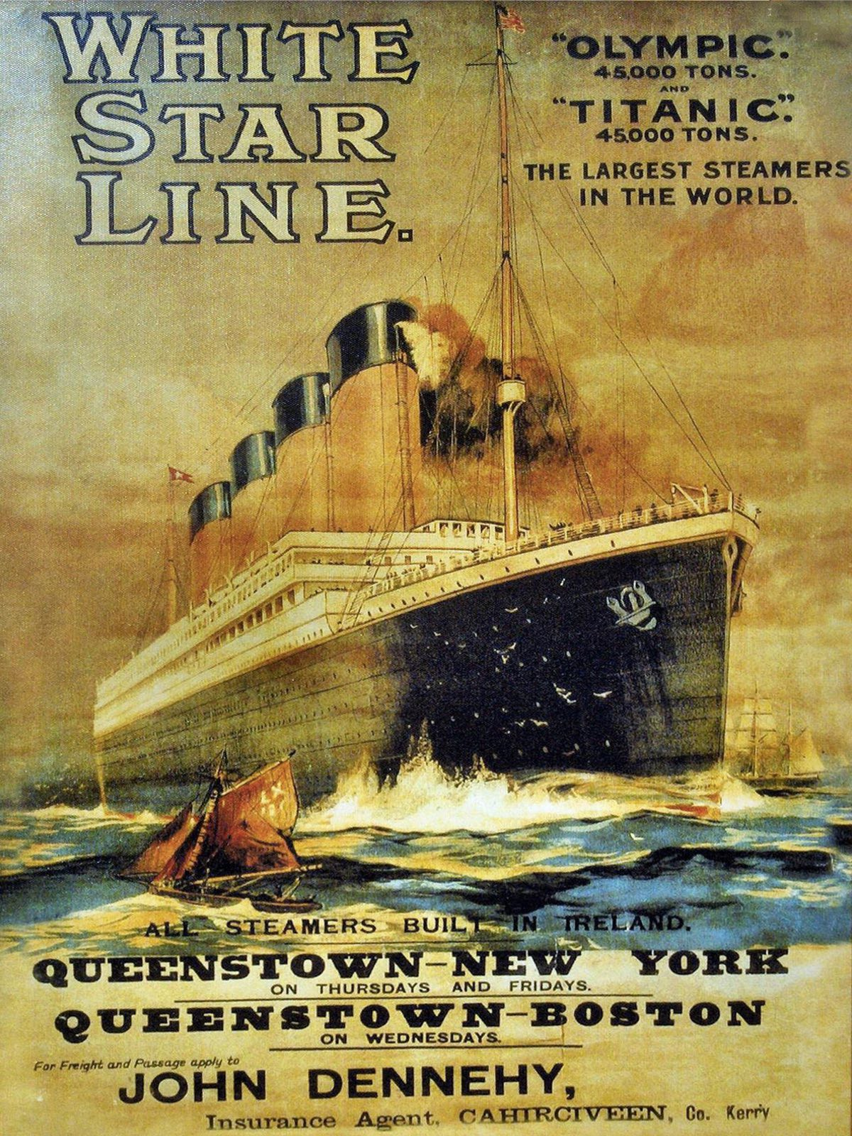 The White Star line would have ruined its reputation if their flagship was sunk